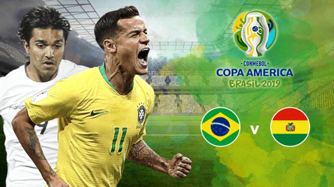 Empieza la Copa América : cuotas del Brasil – Bolivia