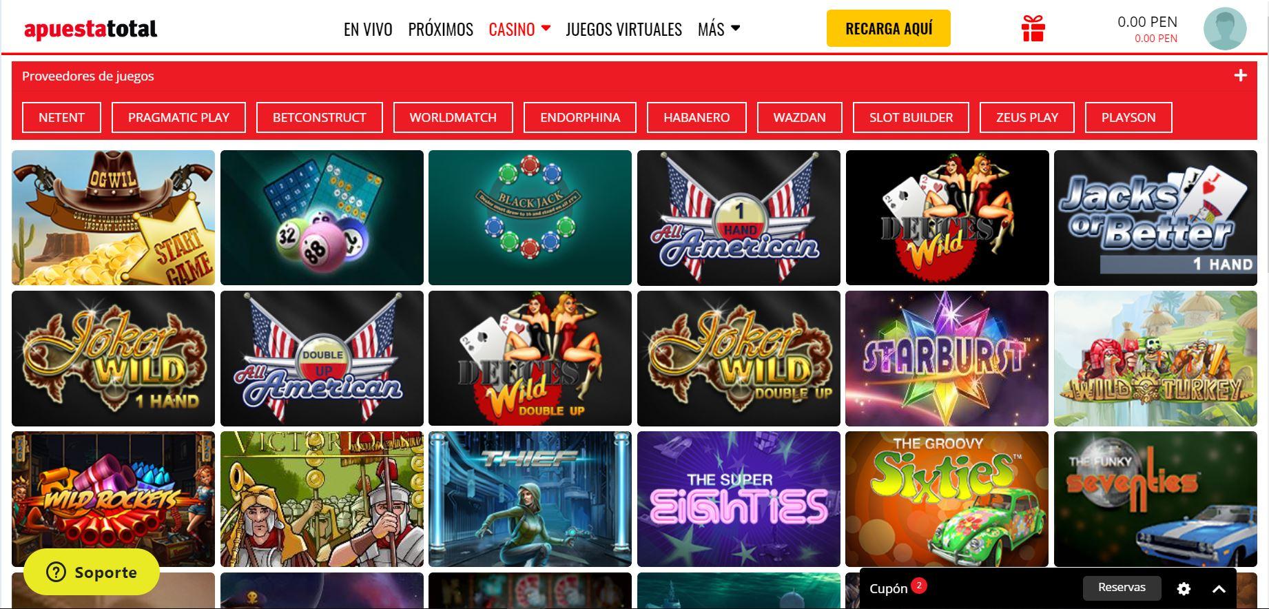 apuesta total casino online