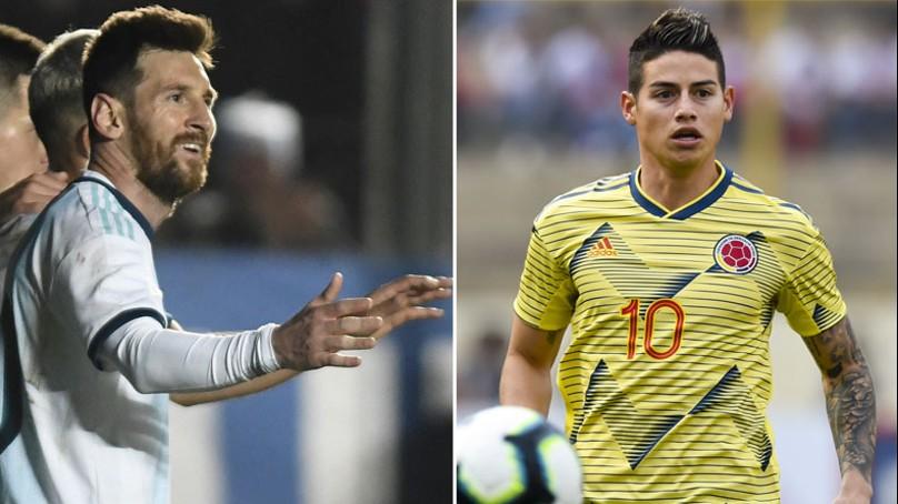 Copa América : cuotas de Argentina – Colombia