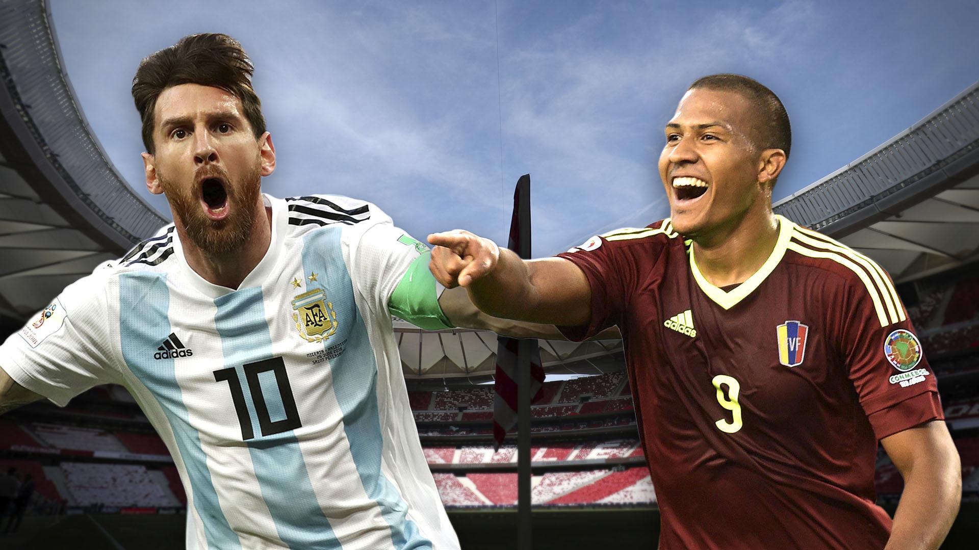 Copa América : cuotas del Venezuela – Argentina