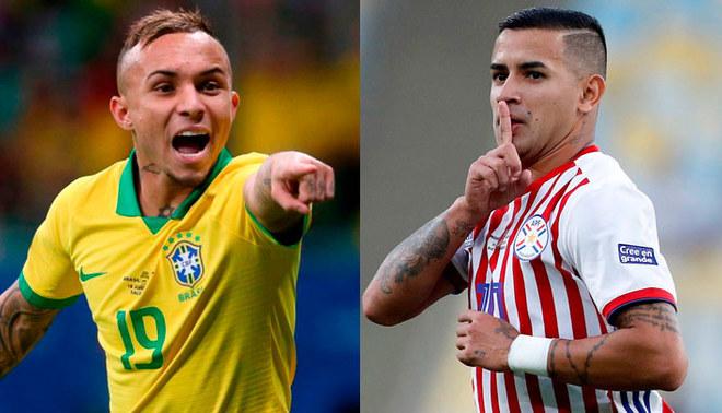 Copa América : cuotas del Brasil – Paraguay