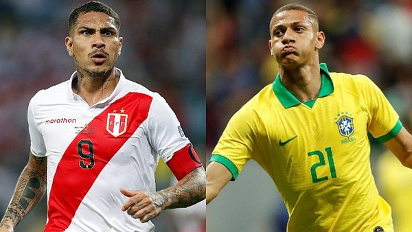 Copa América : cuotas del Perú – Brasil