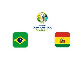 Especiales de Betsson Copa América : Brasil – Bolivia