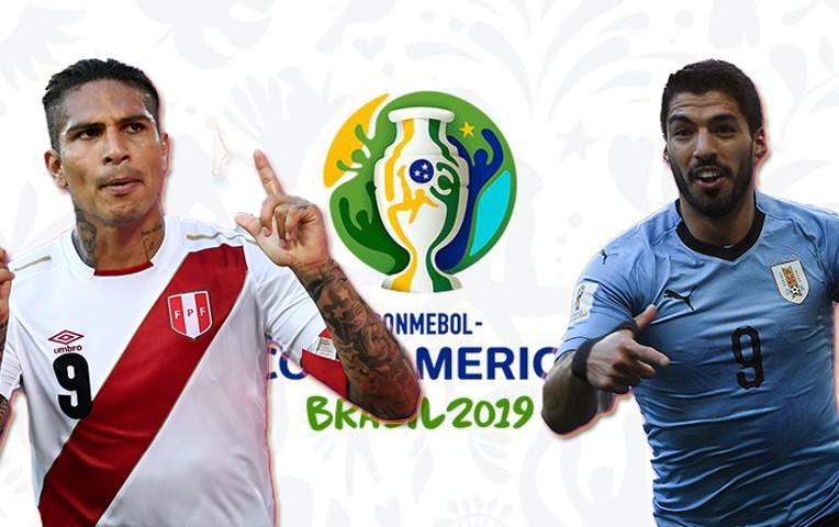 Copa America : cuotas del Uruguay – Perú