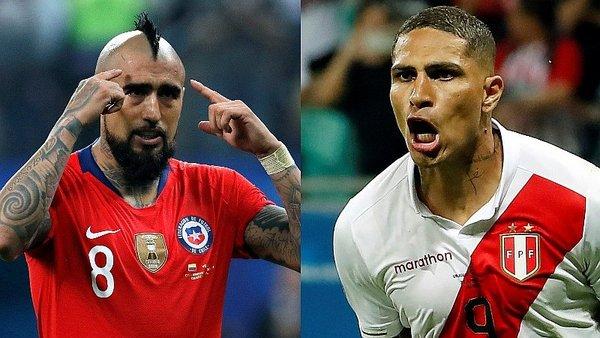 Copa América : cuotas del Chile – Perú