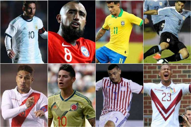 Mercado de Fichajes : valor de los mejores jugadores de la Copa América