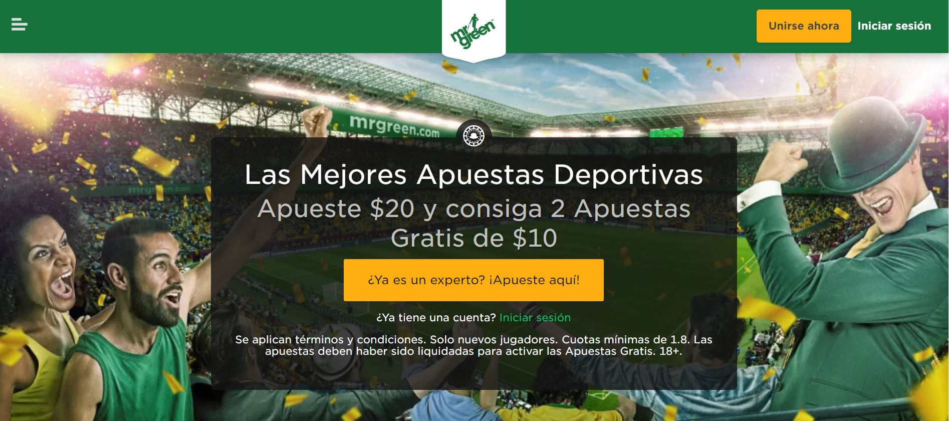 Apuestas Mr Green