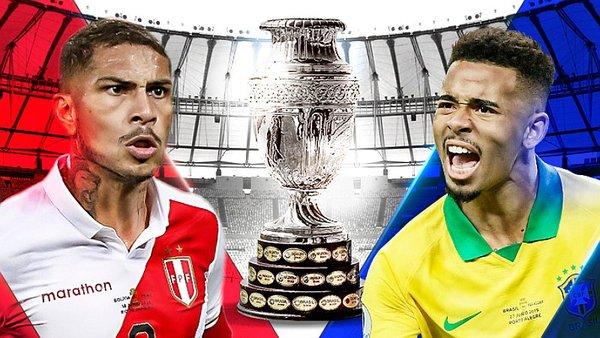 La gran final de la Copa América : cuotas del Brasil – Perú