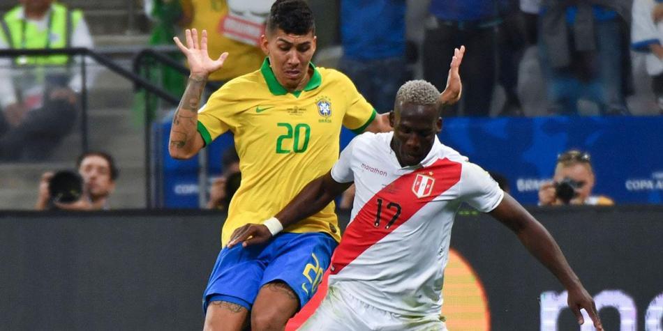 Perú y Brasil se enfrentan en Los Ángeles en la revancha de la final de la Copa América