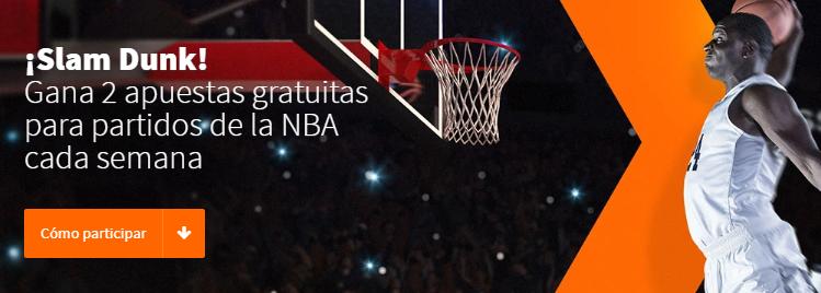 NBA: Apuestas gratuitas en Betsson