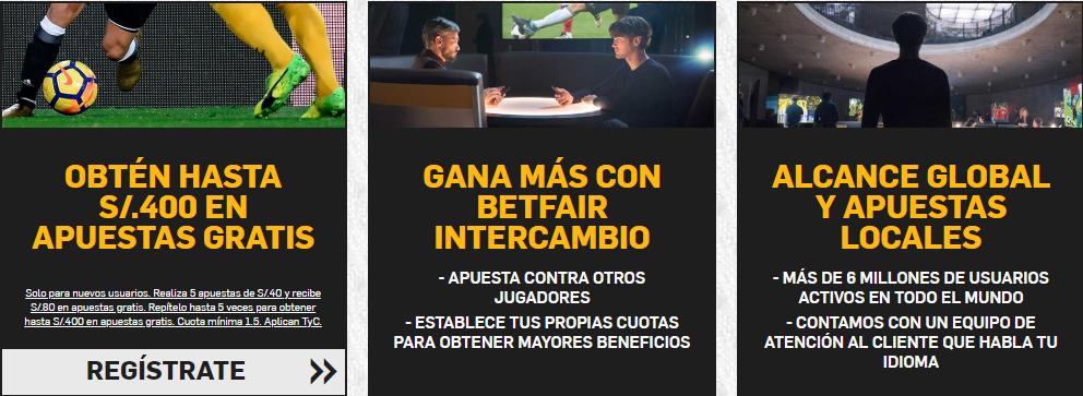 Betfair Intecambio