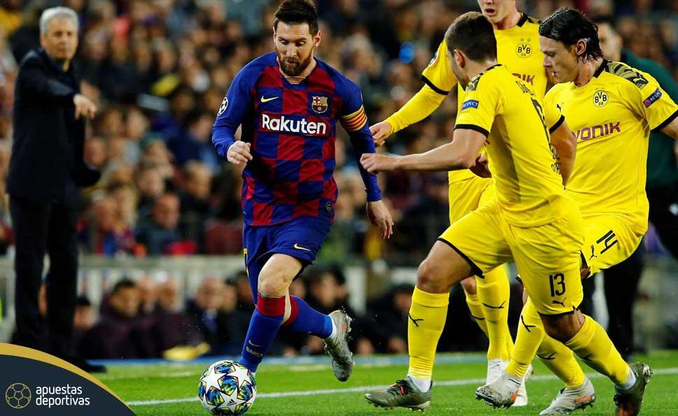 Barcelona vs Borussia Dortmund apuestas