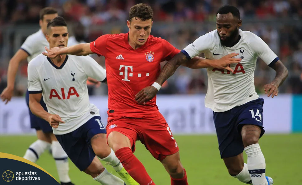 Bayern Munich vs Tottenham apuestas