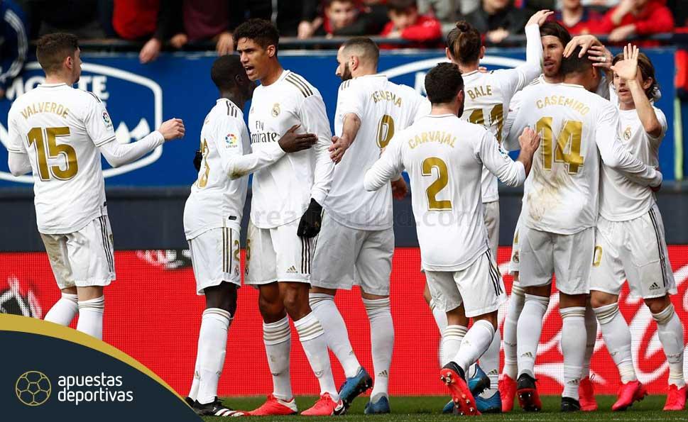Apuestas deportivas Real Madrid