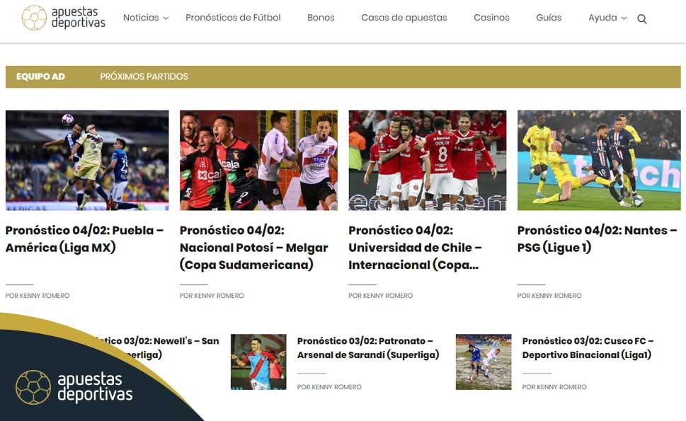 Apuestas y pronósticos deportivos Perú