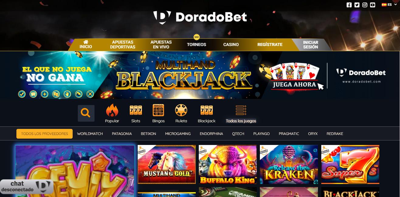 Las mejores casas para jugar casino online - Doradobet