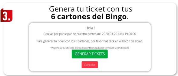 Como jugar en Bingo Total de Apuesta Total
