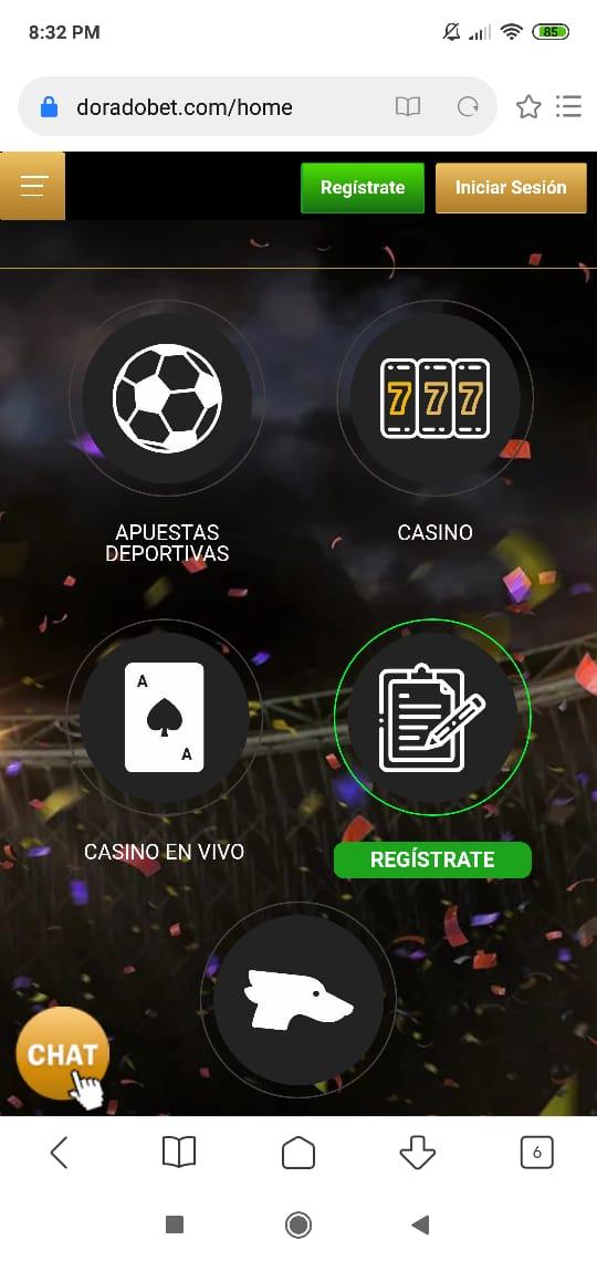 Doradobet App ¿Cómo jugar desde tu celular?