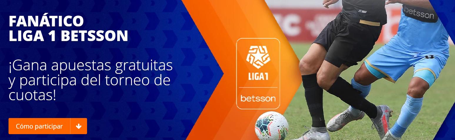 Fanático Liga 1 Betsson > Gana todas las fechas y participa por premios del pozo de S/ 20,000 para Liga 1 Betsson